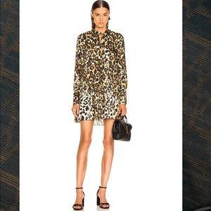 NWT Alexis Leopard Lydia Dress